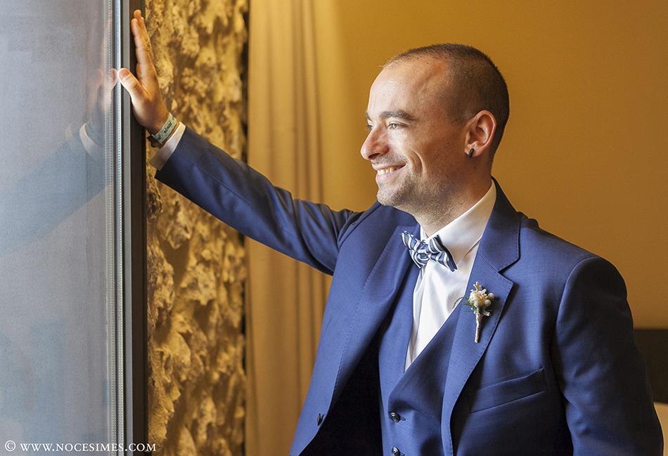 novio boda en el mas oliveres