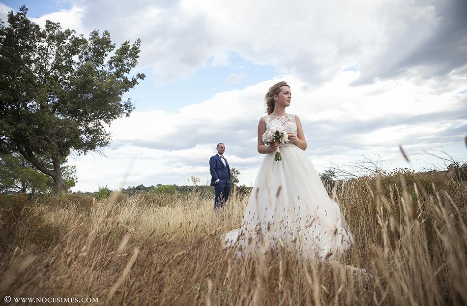 sesion novios boda en el mas oliveres