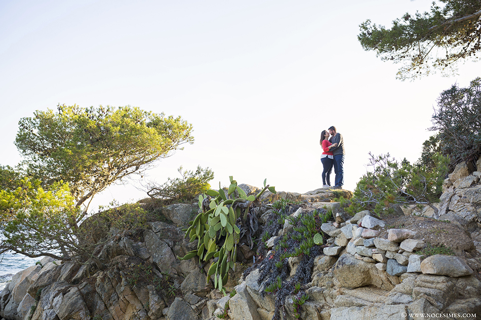 preboda cala s´Alguer casaments costa brava