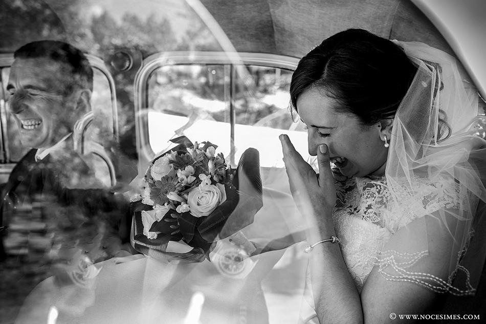 nuvia pare coche nupcial fotograf casaments girona
