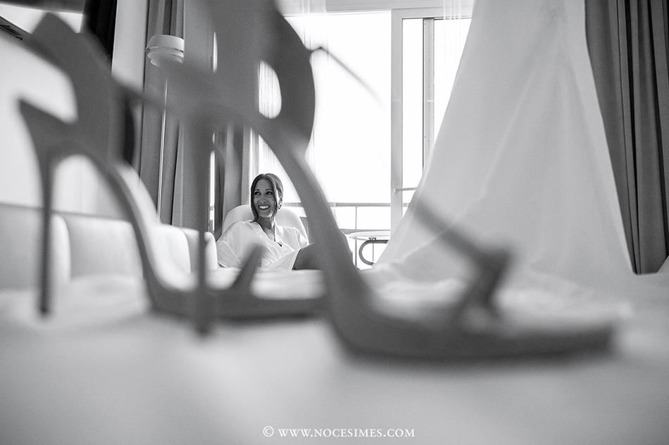 novia fotografo girona zapatos
