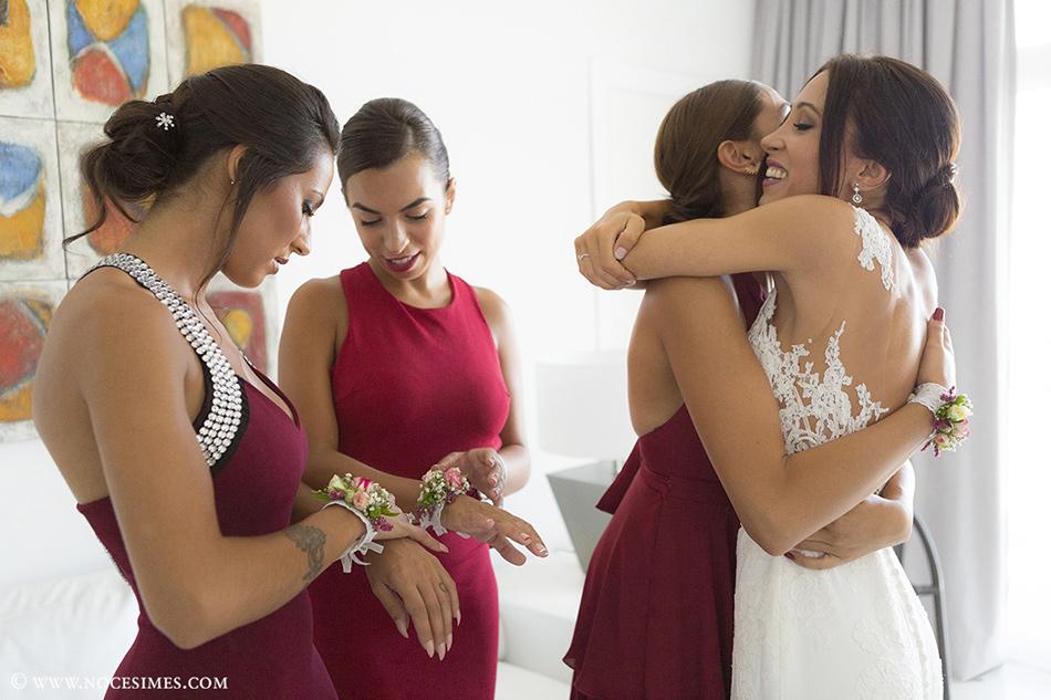 damas honor fotografo bodas girona