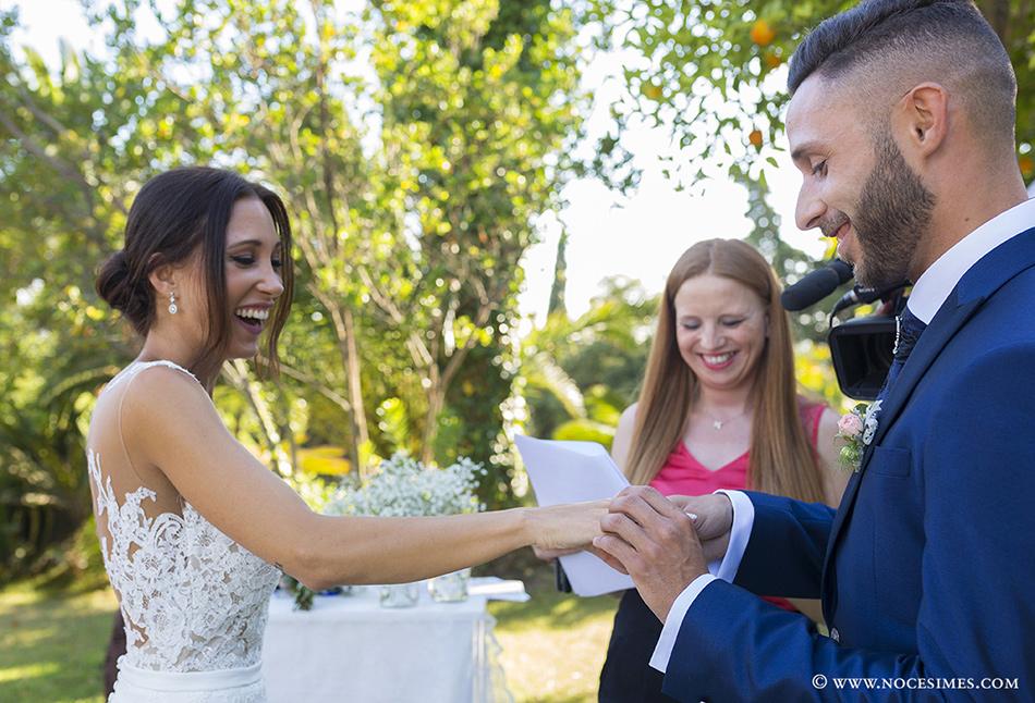 anillos fotografo boda girona