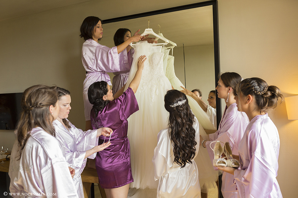 bridesmaids novia fotograf girona