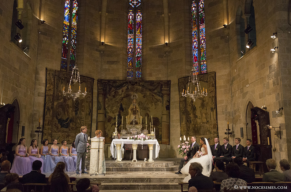 esglesia peralada fotograf casaments girona