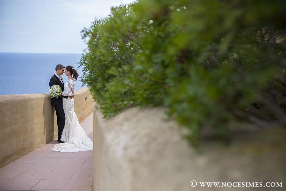 fotografo bodas el far novios