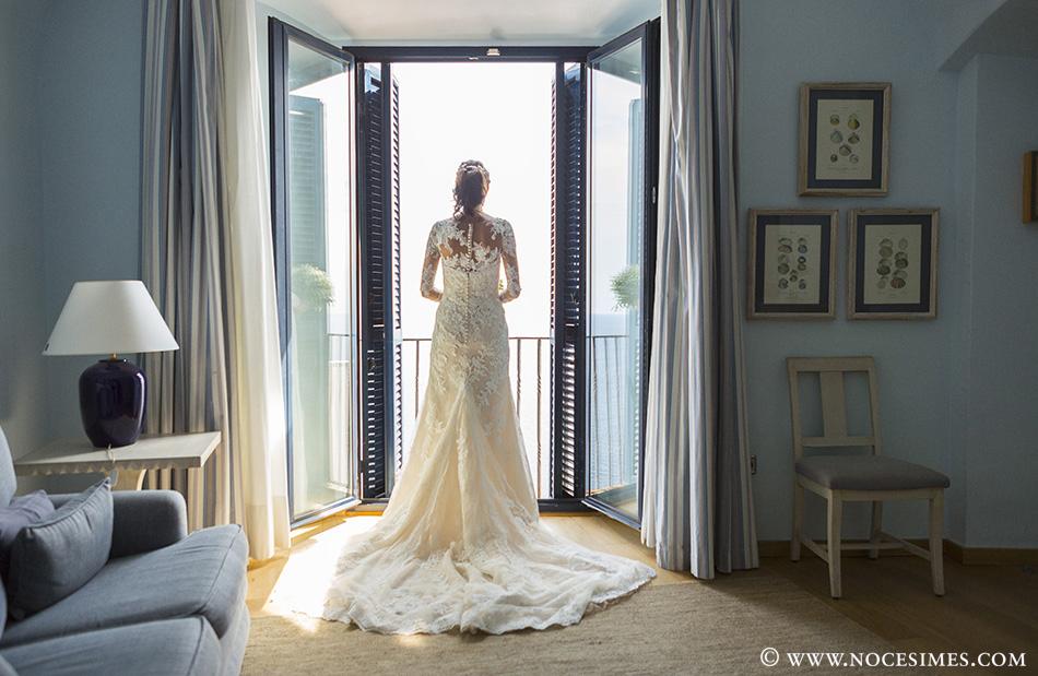 vestido novia fotografo