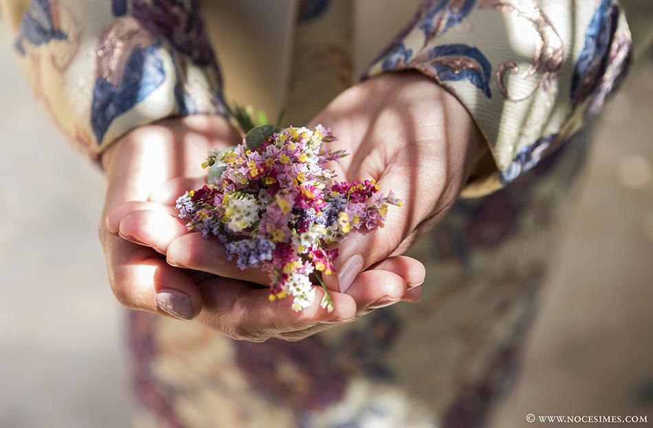 detall flors nuvi fotograf bodes