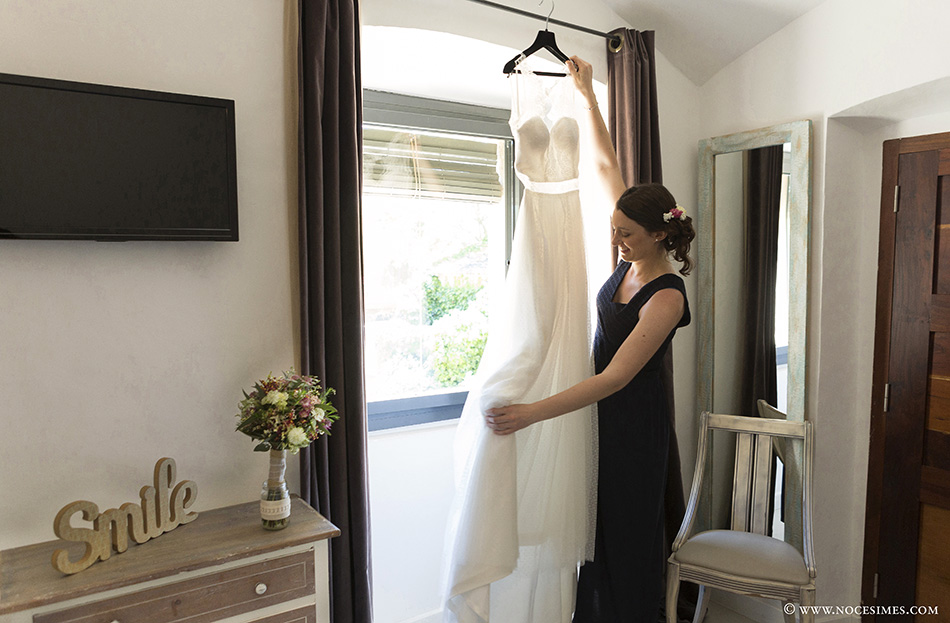 el vestido de la novia fotografia de boda