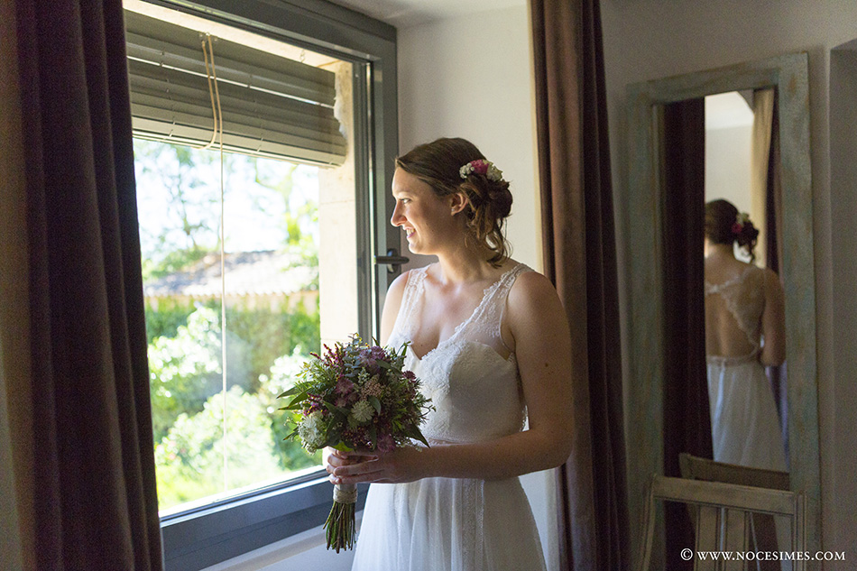El ramo de la novia fotografo boda costa brava