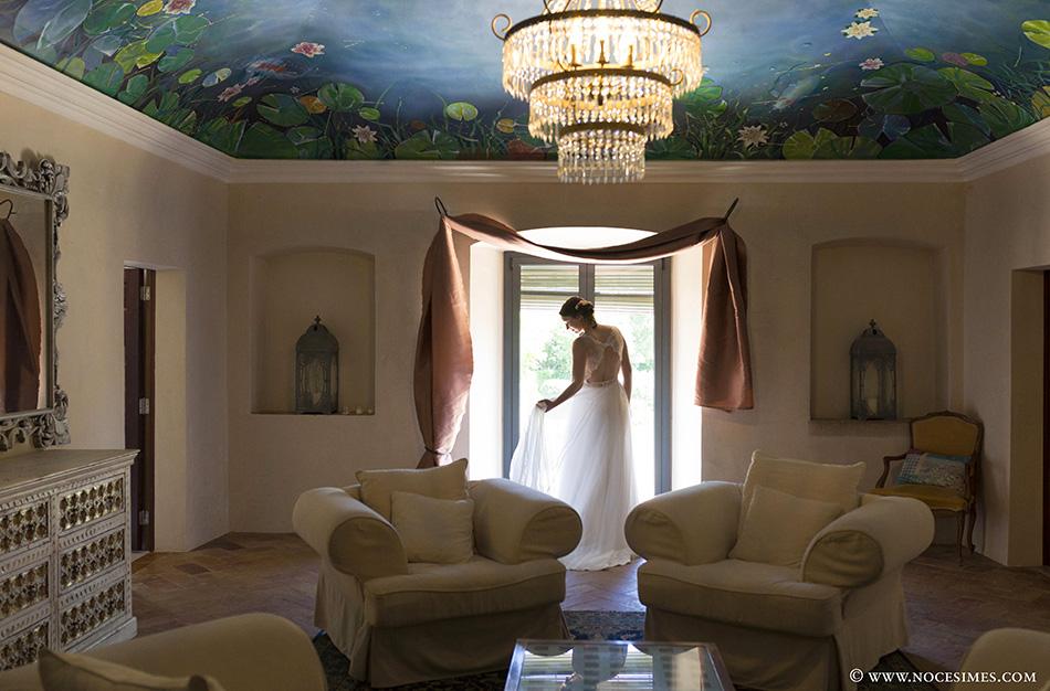 sesión a solas con la novia fotografo de boda girona