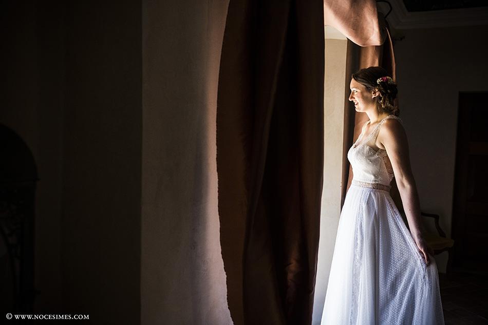 sesion a solas con la novia en el mas carreras fotografo girona