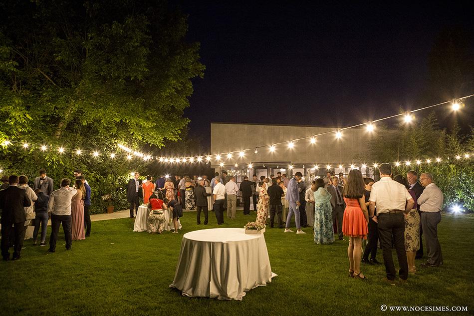 Celebracion de boda en el Mas Carreras