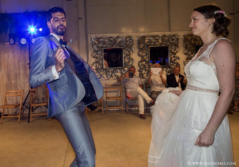 Baile novios en el mas carreras