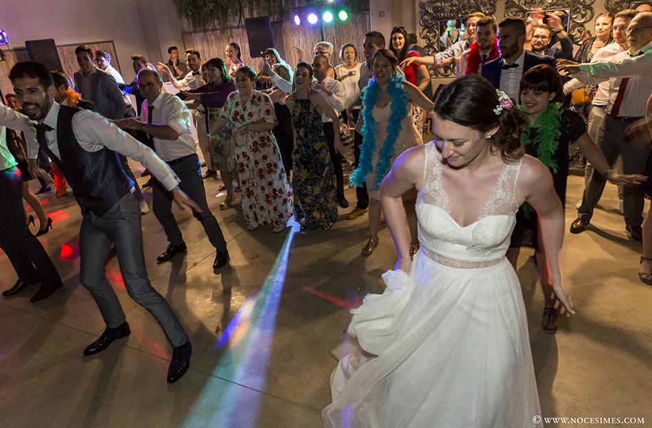 Coreografia de casament al Mas Carreras