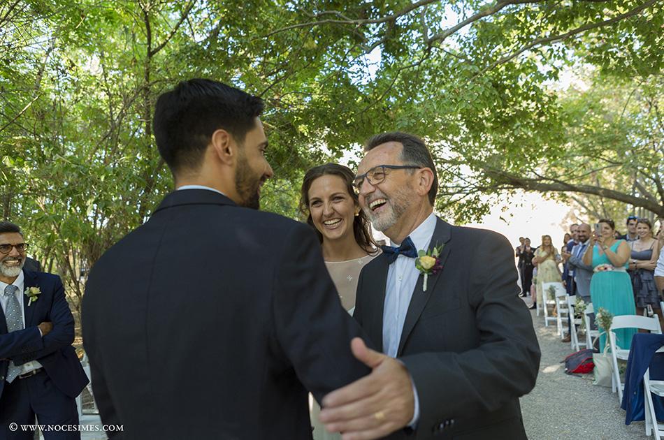 cerimonia de casament al cortal gran