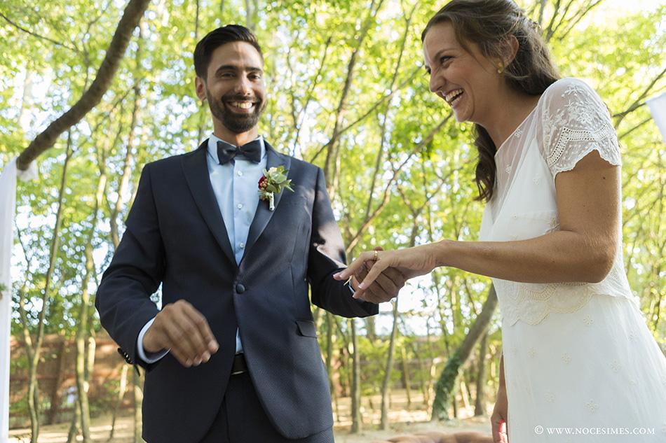 Els anells celebracio de casament al cortal gran