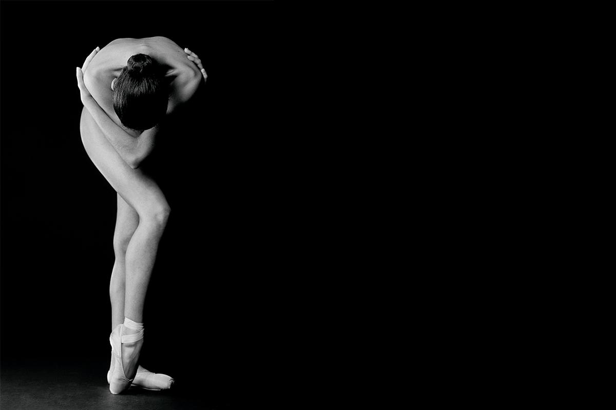 nu artistic d´una ballerina de dança classica
