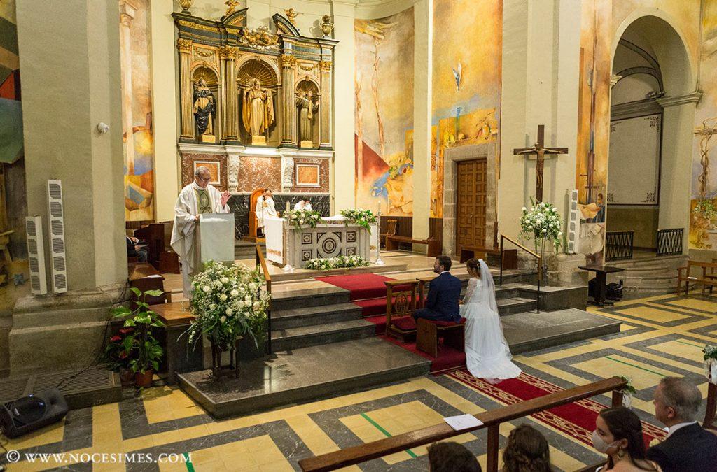 casament esglesia santa Coloma de Farners