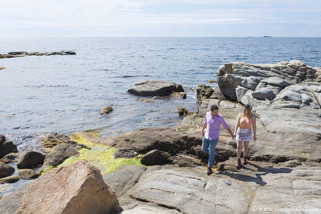 sessio de parella a la costa brava