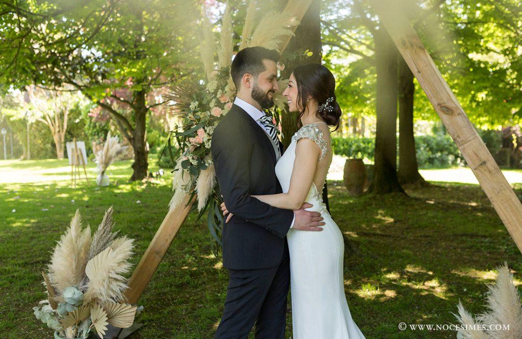 sessio romantica de fotos jardins Mas Marroch